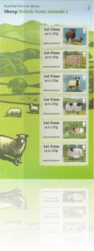 Pictorial Faststamps: Sheep - 24 February 2012