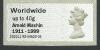Arnold Machin Overprint-40g