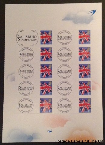 Salisbury Stamp Show March 2013 Royal Mail Instant Smilers