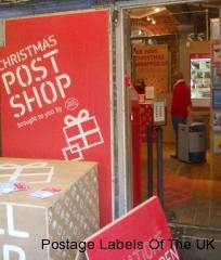 Camden Town Christmas Postshop