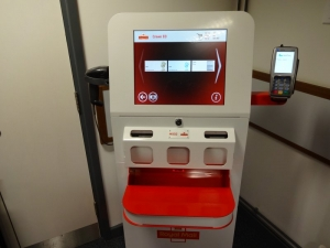 Kiosk M002 at Crewe Enquiry Office