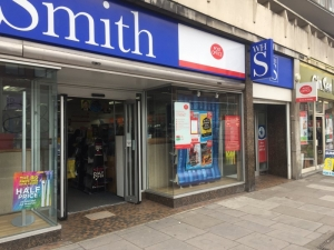 Swiss Cottage Post Office (WH Smith)