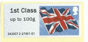 Union Flag MA13 Post and Go Wincor