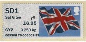 NCR Post Office Self Service SD1 OV Stamp