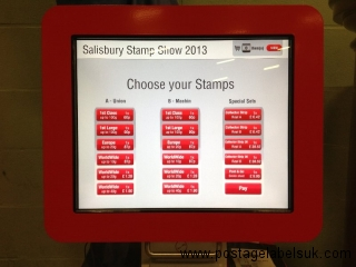 Salisbury Stamp Show March 2013 Hytech Cost and Go