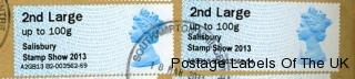 salisbury stamp show overprint