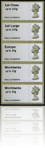 Hytech Postal vision Spring Stampex 2011 Strip 5 machine 21