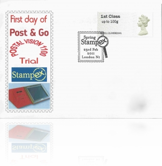 Hytech First Day Cover ~Spring Stampex 11